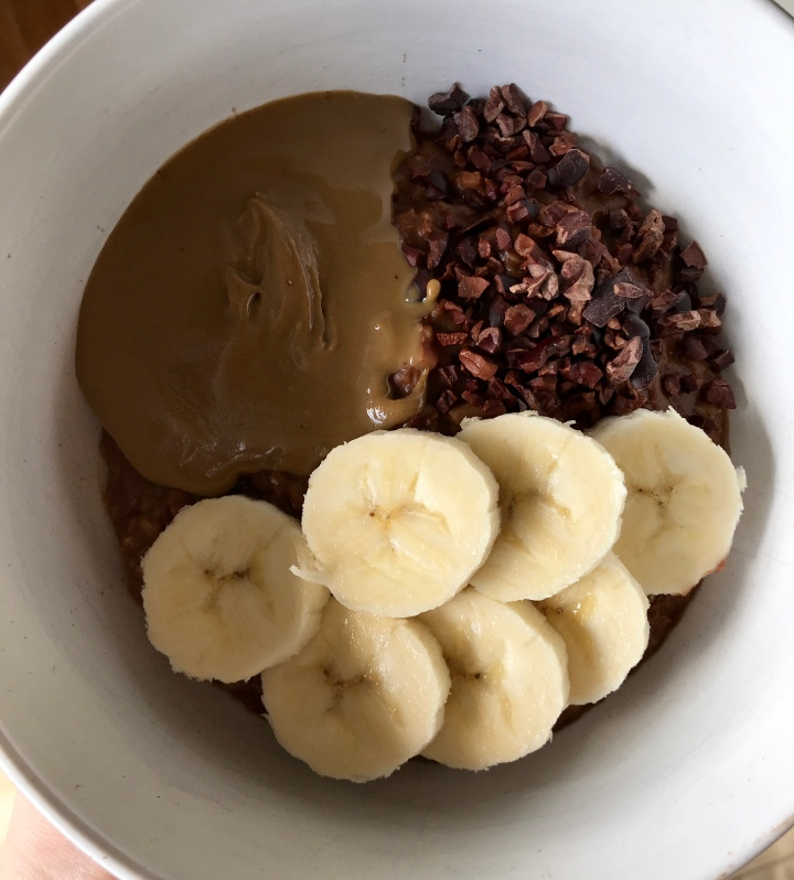 "Cacao Cauliflower ""Oats"""
