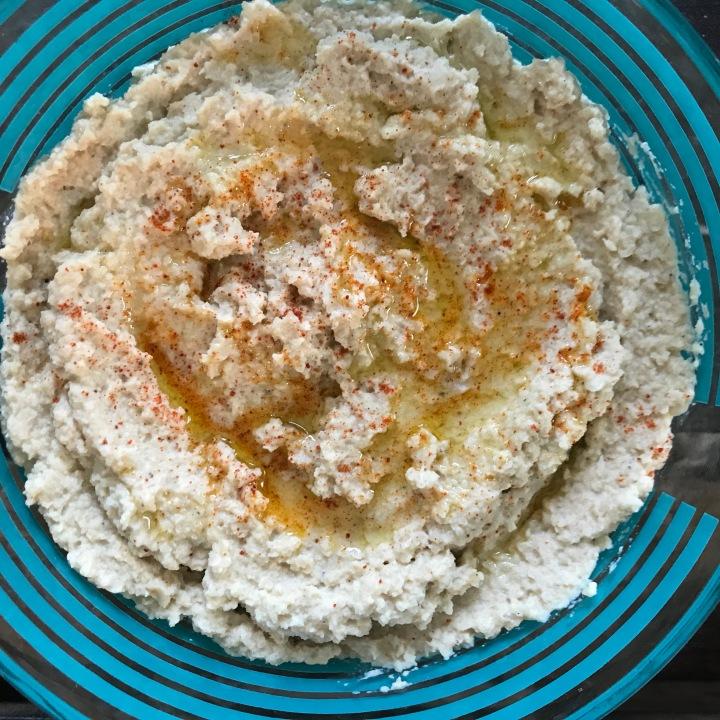 Cauliflower Hummus (bean-free)