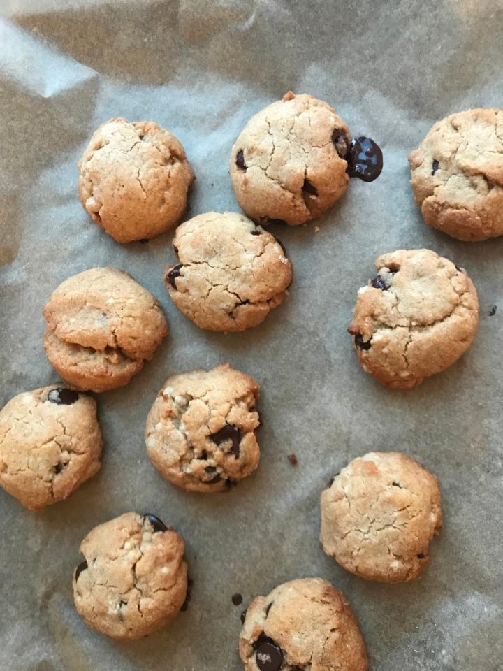 Paleo chocolate chipcookies